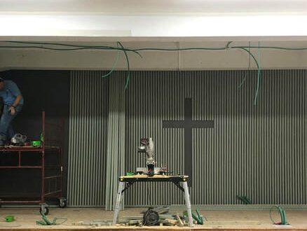 Chapel Renovation - Stage - Image 1